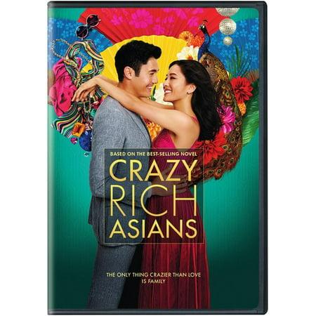 Crazy Rich Asians (DVD) (Best Asian Romantic Comedy)
