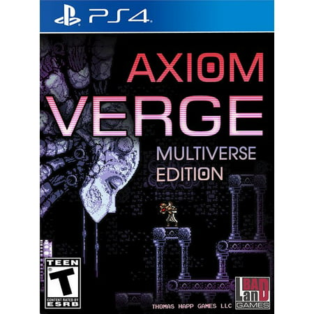Axiom Verge  Multiverse Edition For Playstation 4