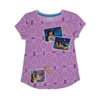 Disney Aladdin Princess Jasmine Embroidered Graphic T-Shirt (Little Girls & Big Girls)