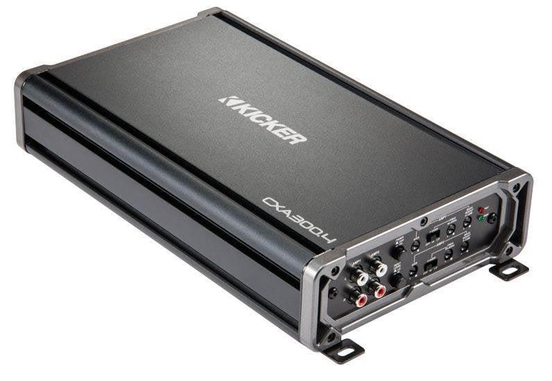KICKER 43CXA3004 300 WATT 4 CHANNEL FULL RANGE AMPLIFIER