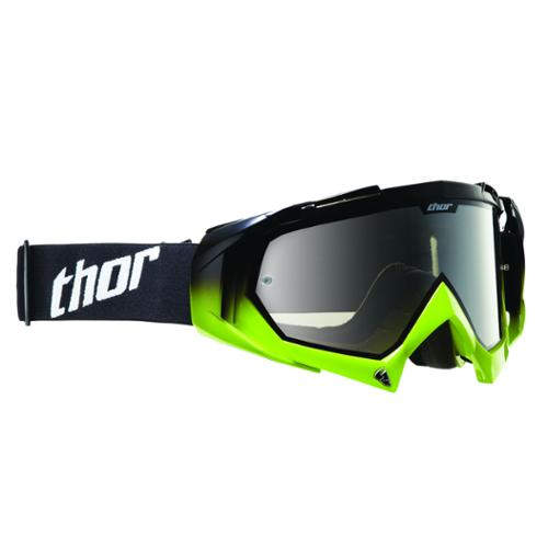 Thor Hero 2013 MX/Offroad Goggles Black/Green