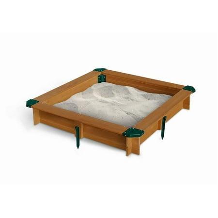 Wooden Sandbox (Gorilla Playsets  Wood Interlocking)