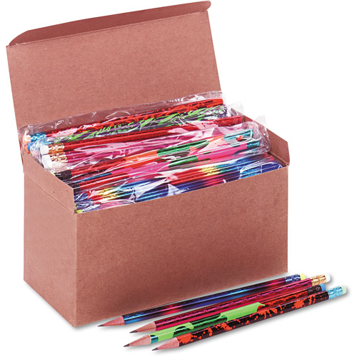 Moon Products Award Woodcase Pencil, Treasure Assortment, 144ct