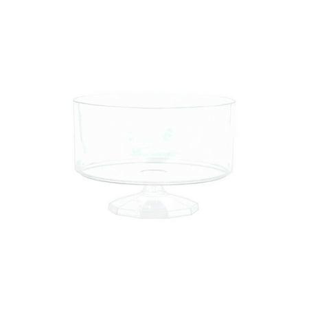 Shindigz Medium Plastic Trifle Container - Plastic Trifle Dish