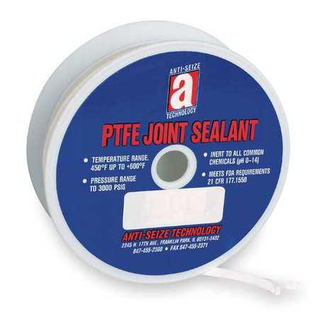"""Joint Sealant,Ribbon,1/4""""X50',White ANTI-SEIZE TECHNOLOGY 28007"""