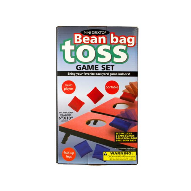 Bulk Buys OD802-2 Portable Mini Desktop Bean Bag Toss Game Set