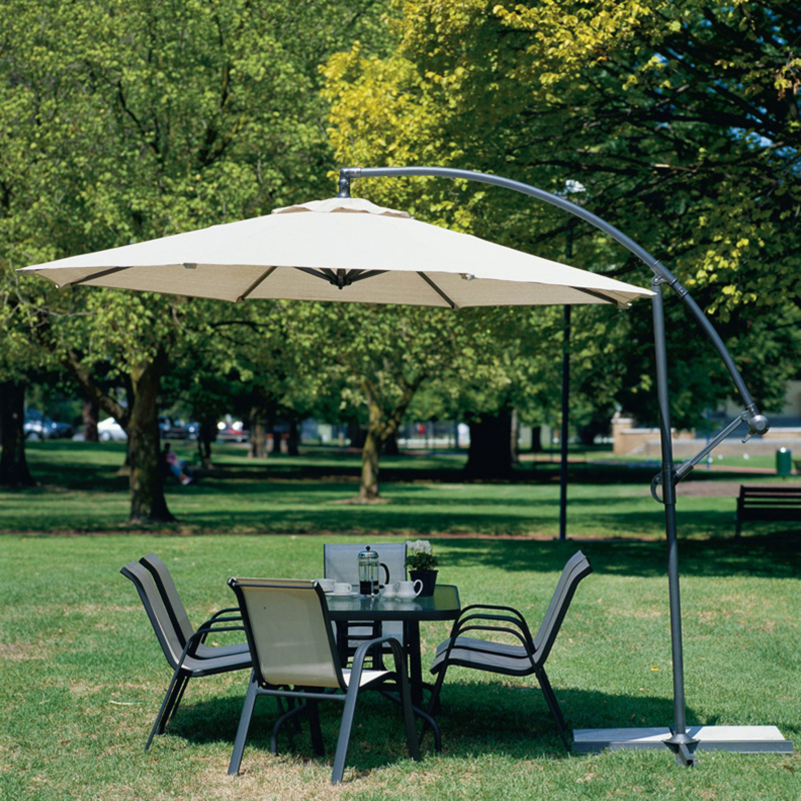 Coolaroo 12-ft. Round Cantilever Patio Umbrella by Gale Pacific USA, Inc.