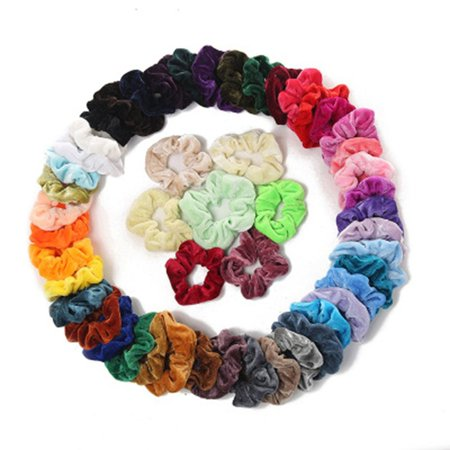 Fleece Hair Ring Multi-Color Optional Gold Velvet Hair Ring Hair Accessories Professional Fashion Portable - image 4 of 10