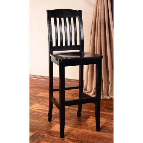 Beechwood Mountain LLC College Solid Beech Wood Bar Stool by Overstock