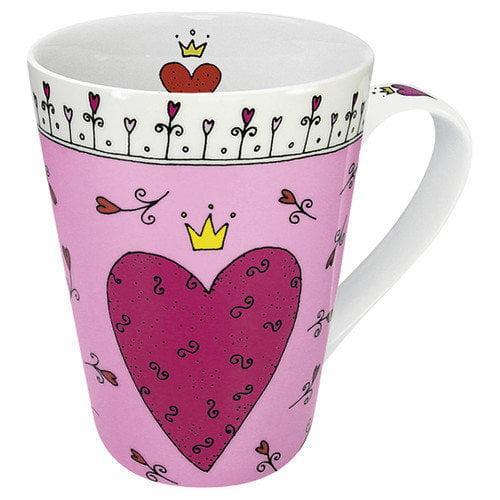 Konitz Gift for All Occassions Princess of My Heart Mug (Set of 4)