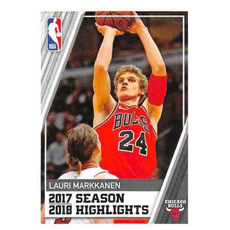 2018-19 Panini NBA Stickers #4 Lauri Markkanen Chicago Bulls Basketball Sticker](Halloween Ball Chicago 2017)