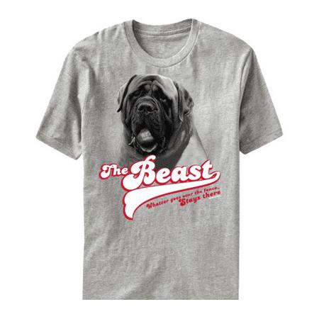 The Beast Sandlot T-Shirt Sand Lot Dog Over The Fence 90's Baseball Movie