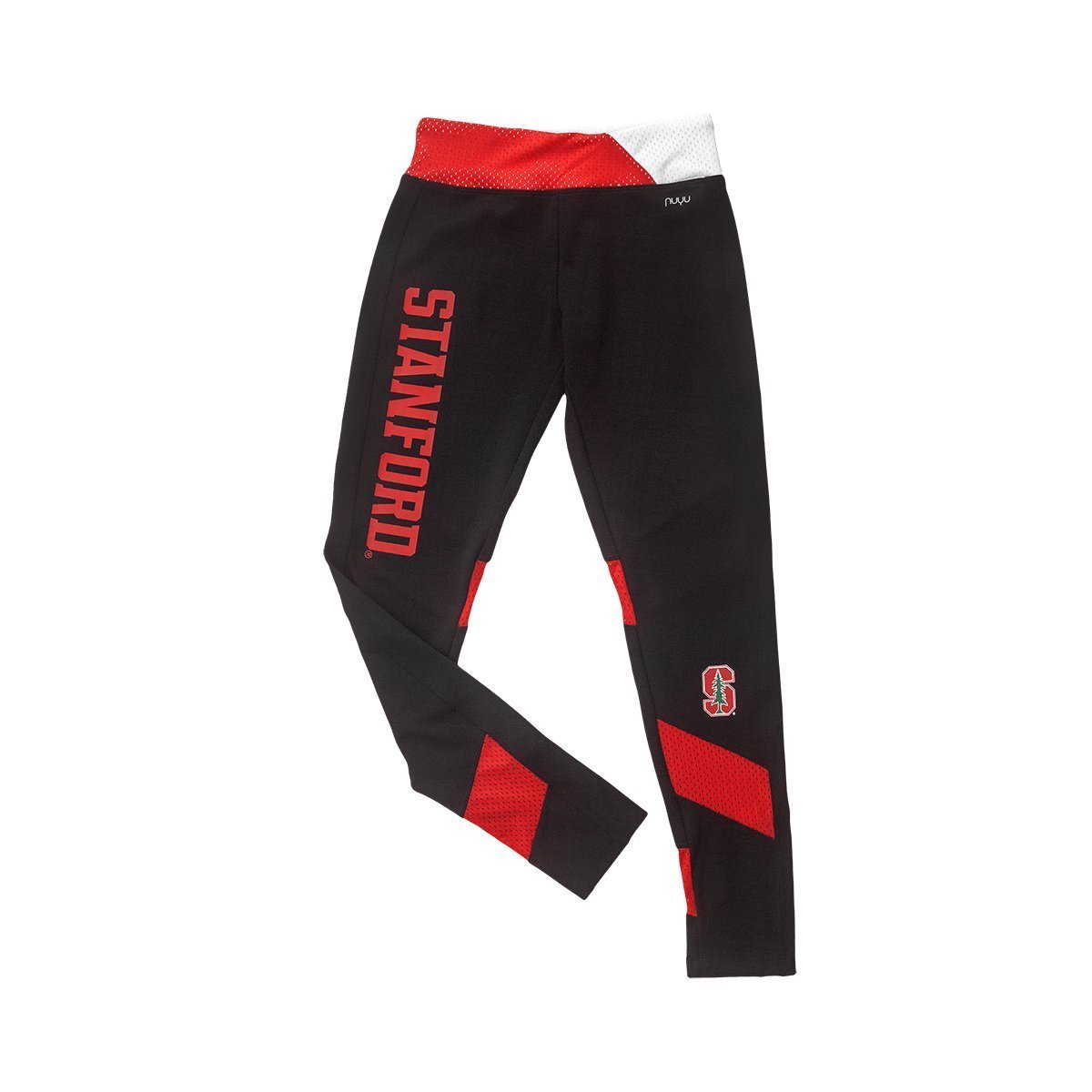 Stanford University Yoga Legging with Mesh Insert