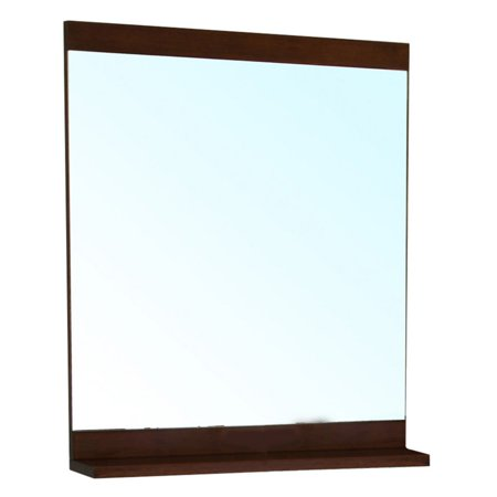 Bellaterra Home Solid Wood Frame Mirror - 27.6W x 31.6H in.