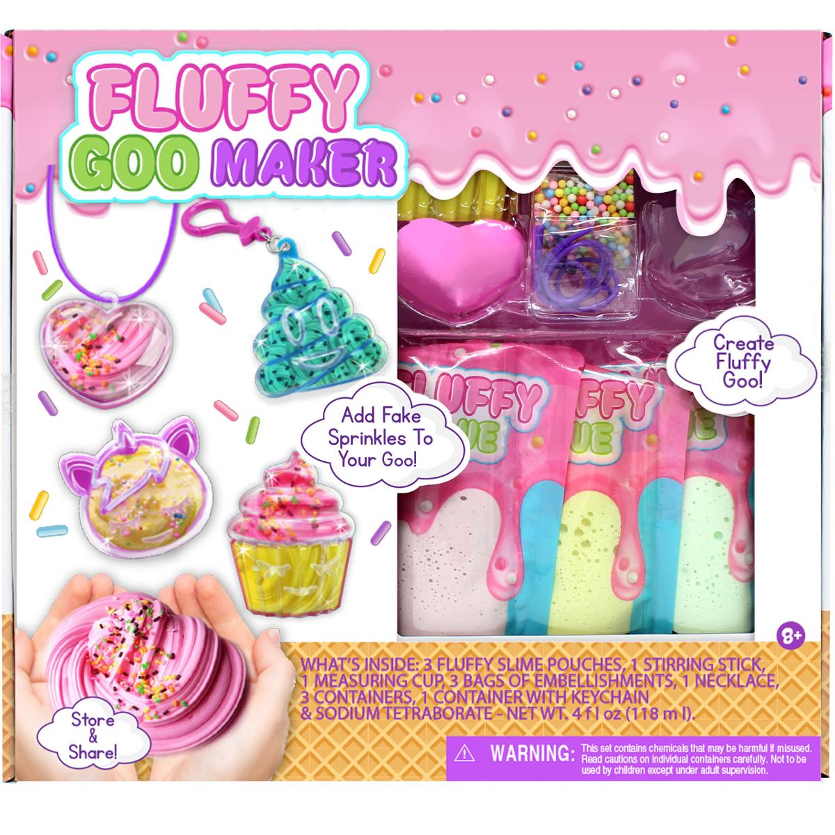 Fluffy Slime Maker Kit