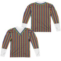 Sesame Street - Bert Costume (Front/Back Print) - Regular Fit Long Sleeve Shirt - XX-Large