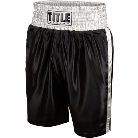 Title Boxing Youth Classic Edge Satin Performance Boxing Trunks Autographed Custom Boxing Trunks