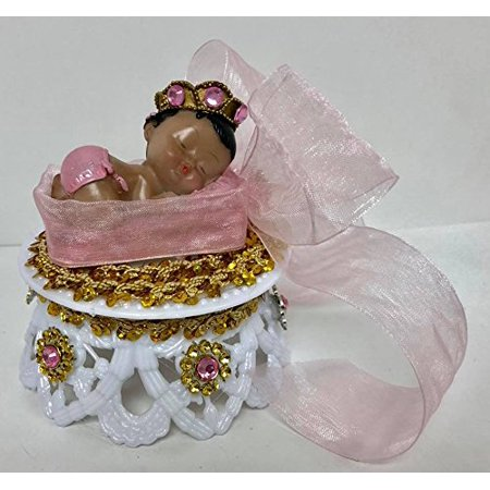Ethnic Baby Girl Princess Baby Shower Cake Top Favor Decoration - Princess Baby Shower Cakes
