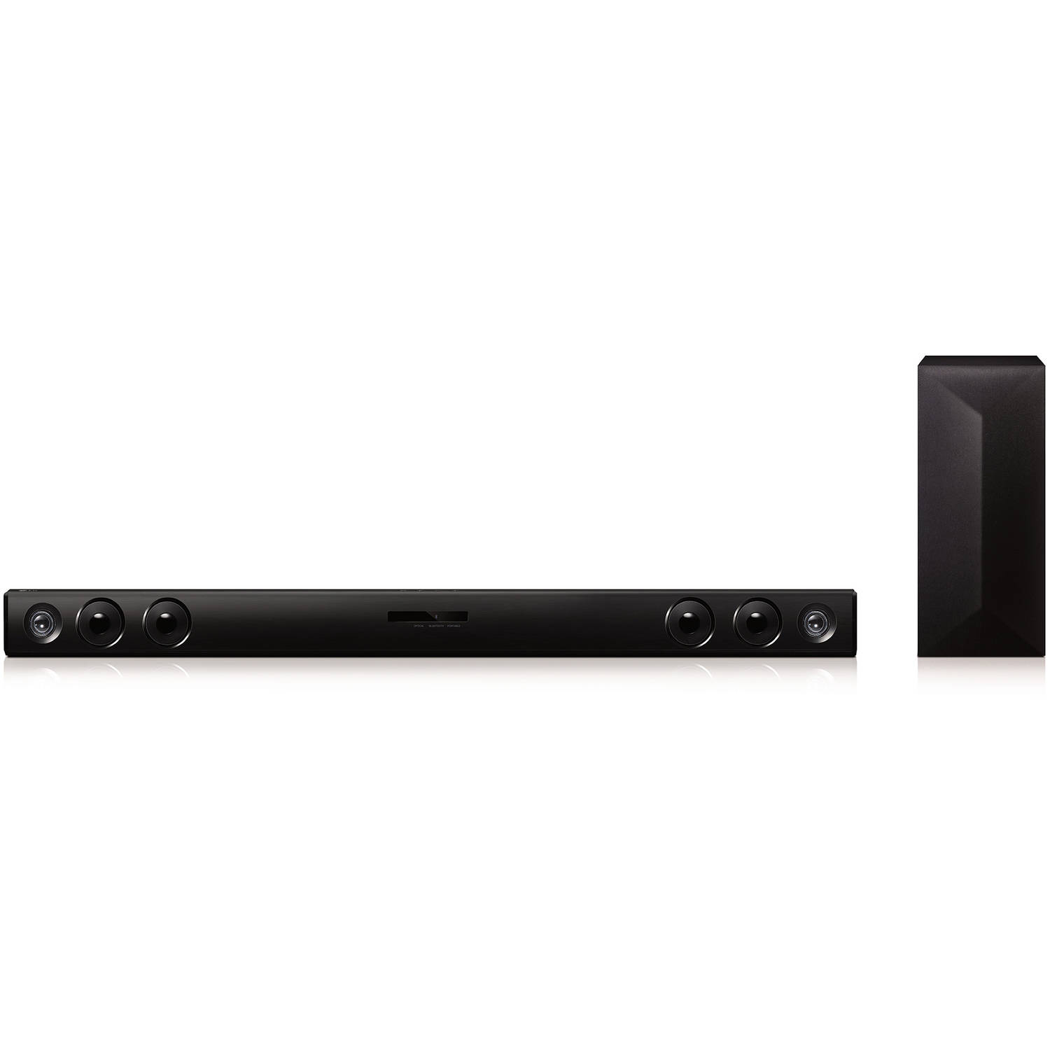 LG LAS465B 2.1-Channel 300-Watt Sound Bar with Wireless Subwoofer