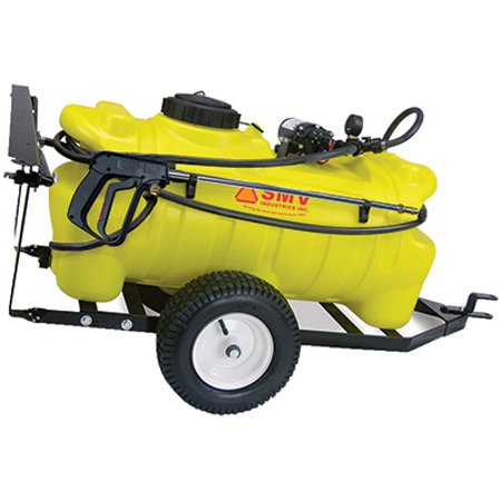 - Smv Industries 25TY202HLB2G2N Trailer Sprayer, 2-GPM, 25-Gal.