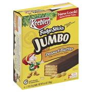 Keebler Fudge Peanut Butter Jumbo Sticks, 6.6 Oz.