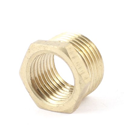 Male Right Fitting (Unique Bargains Brass 3/8