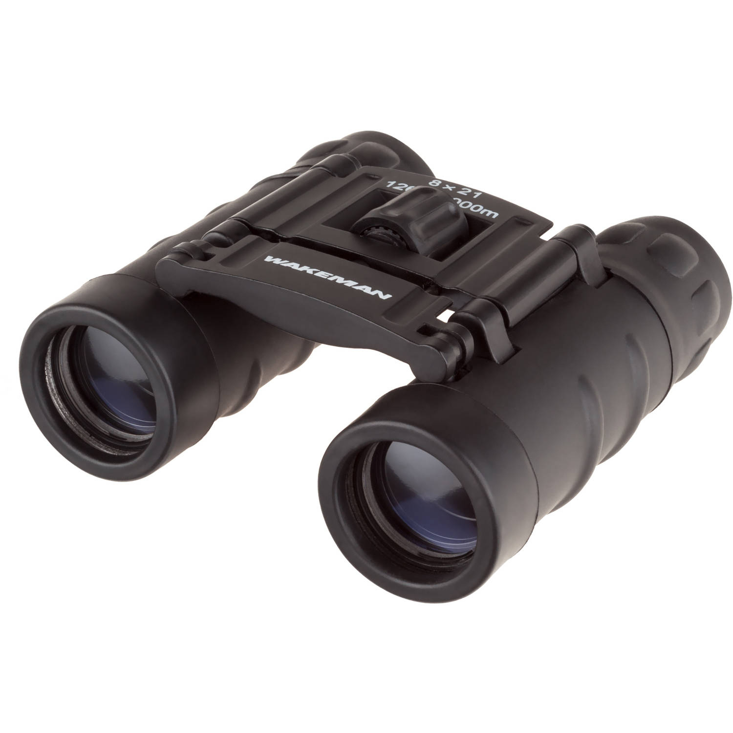 Pocket Sized Binoculars - Compact Folding Field Glasses with 8X Zoom and 1000 Yard Viewing Range for Hunting or Watching Wildlife by Wakeman Outdoors