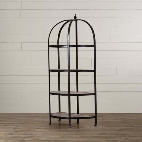 August Grove Chilton 61'' Etagere Bookcase by