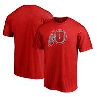 Utah Utes Fanatics Branded Static Logo T-Shirt - Red