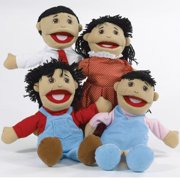 Asian Family Puppets - Set of 4