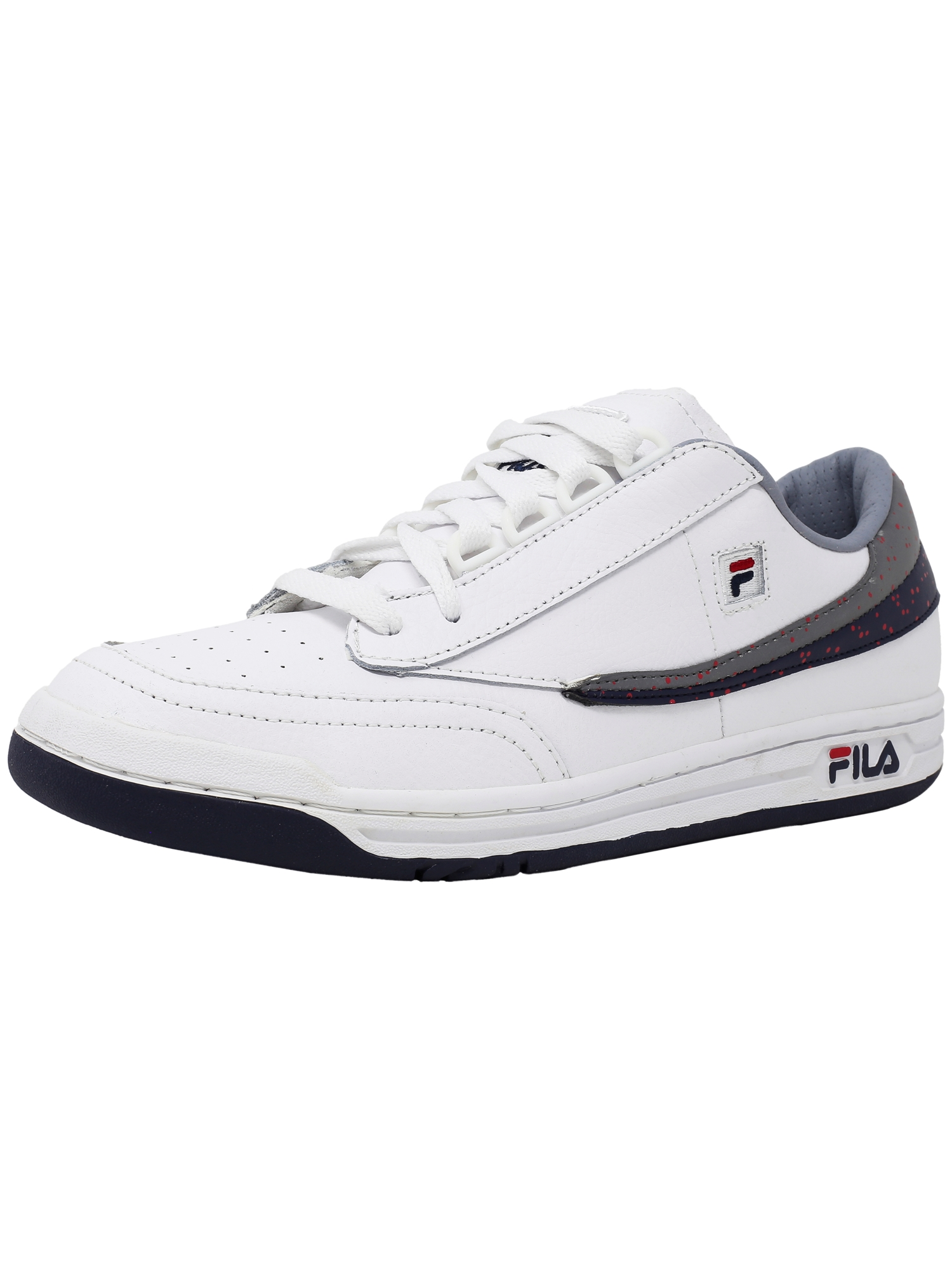 Fila Men's Original Tennis White   Navy High Rise Ankle-High Shoe 8.5M by Fila