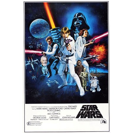 Star Wars: Episode IV - A New Hope - Movie Poster / Print (Regular Style C) (Size: 27