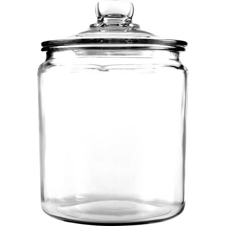Anchor Hocking Glass Heritage Jar, 1 gal (Cookie Jars Set)