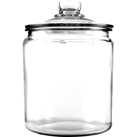 Anchor Hocking Glass Heritage Jar, 1 gal (Mini Glass Jars With Lids)