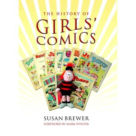 Comic Book Girl Halloween (A History of Girls' Comics -)