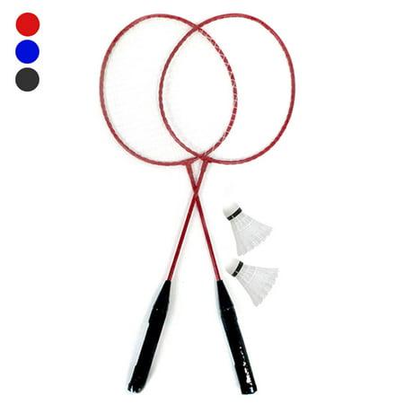 4PC Set Badminton Rackets Training Shuttlecocks Ball Sports Games Medium