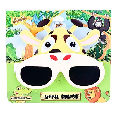 Party Costumes - Sun-Staches - Animals Shades - Giraffe SG2990 - Party Animal Costume