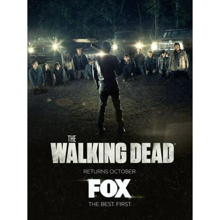 The Walking Dead Poster 11inx17in Mini Poster FOX UK (Warehouse Uk Promo Code)