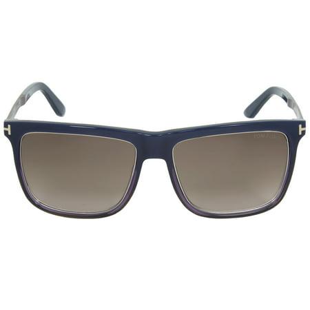 9564084cd15  212.00 - Tom Ford Karlie Unisex Square Sunglasses FT0392 F 92J 57