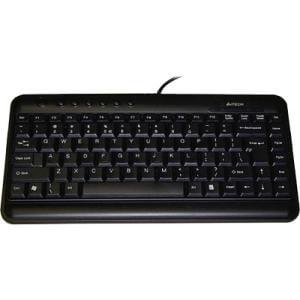 Ergoguys A4 Tech KL-5 Mini Slim Black Compact Keyboard