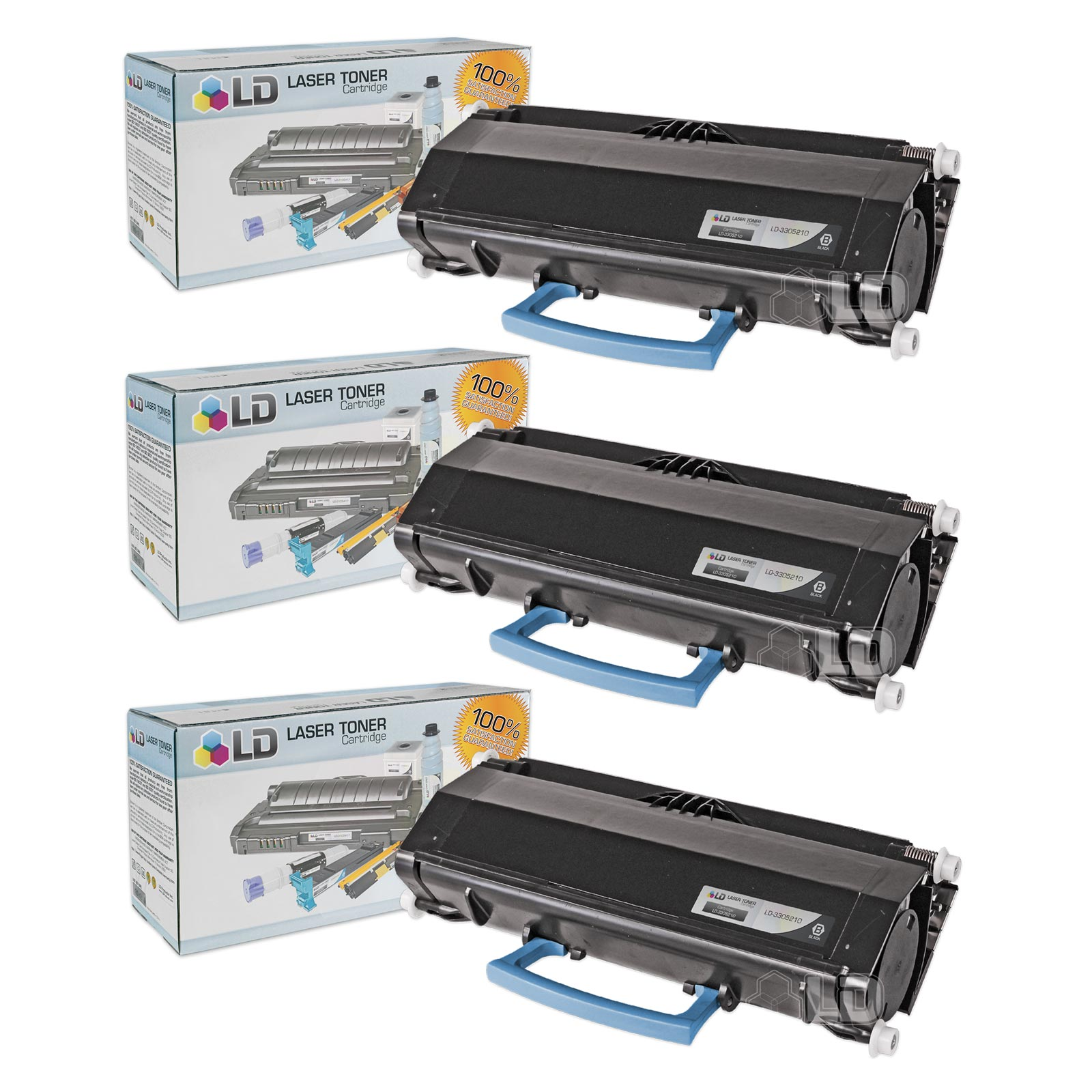LD Compatible Dell 330-5207 (U903R) High Yield Black Toner Cartridges for your Dell 3330dn Printers