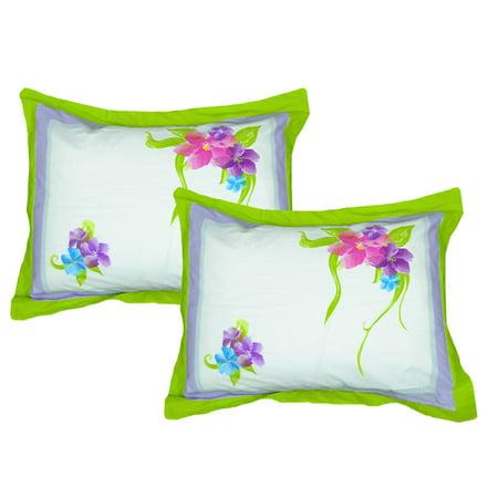 Store51 Llc 12606547 Disney Floral Pillow Shams Set Magic Art Bedding Accessories