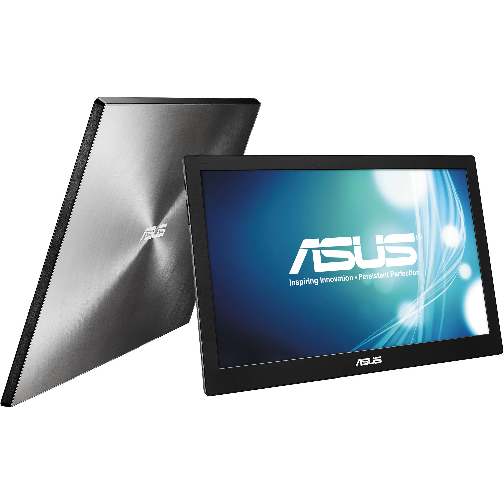 Refurbished - ASUS MB169B+ 15.6 14ms Widescreen IPS Portable Monitor 1920 x 1080 USB 3.0