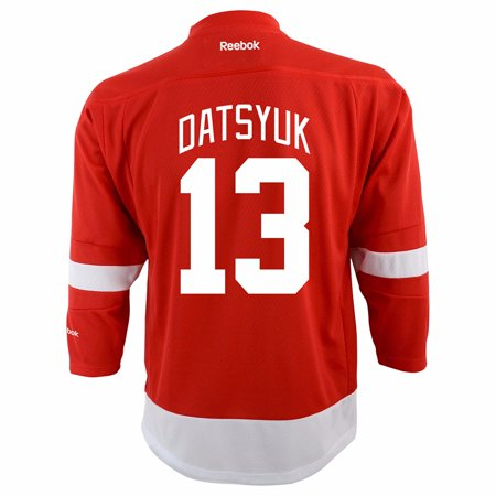 Pavel Datsyuk Detroit Red Wings NHL Reebok Infant Red Official Replica Home Jersey