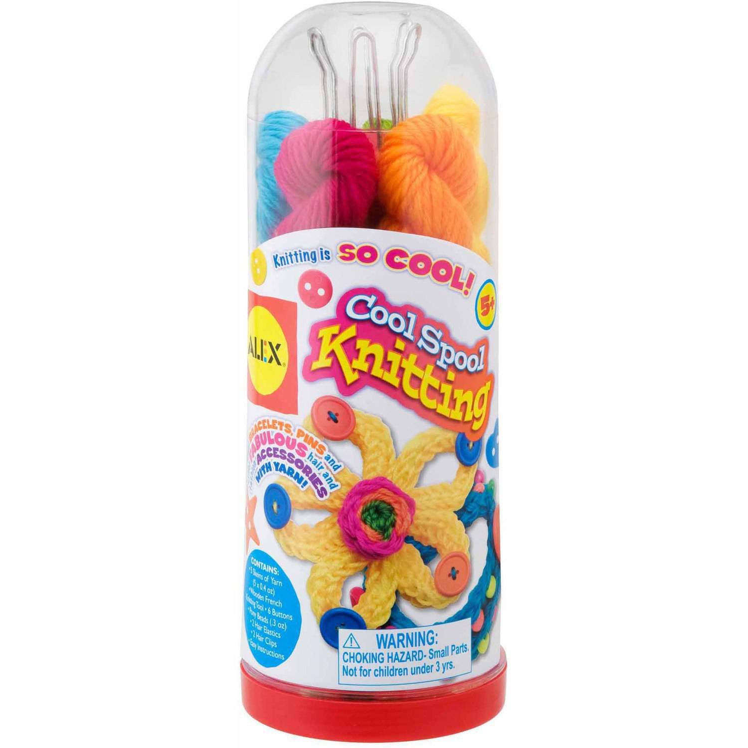 ALEX Toys Craft Cool Spool Knitting