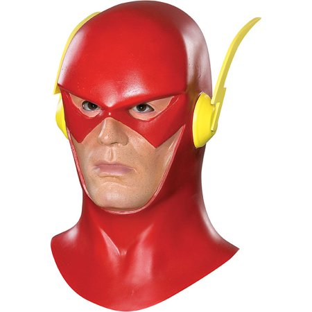 Adult The Flash Latex Mask Rubies 4257 - Flash Mask