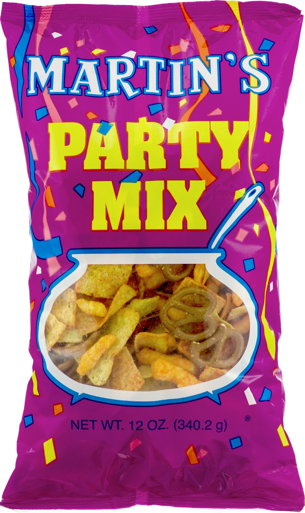 Martin's Party Mix 12 Oz. (4 Bags) by Martin's Potato Chips Inc.