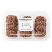 Freshness Guaranteed Peanut Butter Fudge No-Bake Cookies, 18 oz, 12 Count