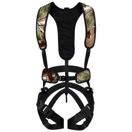 Hunter Safety Systems Camo Hunting X-1 Bowhunter Tree Stand Harness, - Hunter Camo