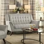 Coaster Baby Natalia Retro Mid Century Modern Sofa